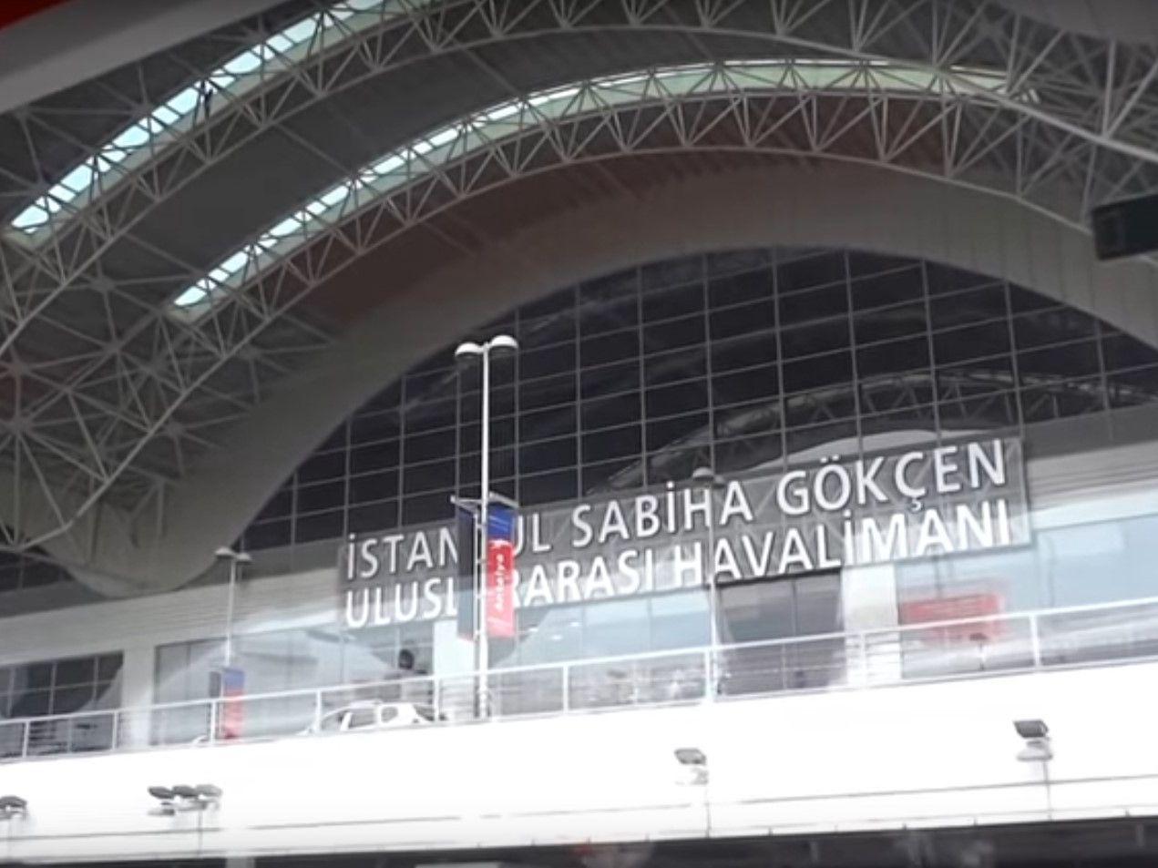 Аэропорт Сабиха Гьокчен(Стамбул)